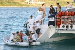 Afilias last night sunset sail and Caribbean Dance party @ the Ritz Carlton St. Thomas, USVI 111705