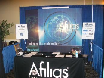 Afilias Booth