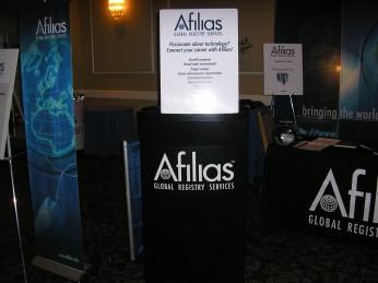 Afilias Booth1